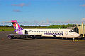 Hawaiian Airlines Boeing 717 at Hilo International Airport.jpg