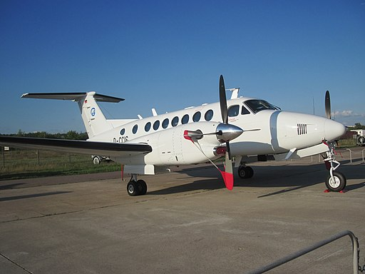 Hawker Beechcraft King Air 350i, MAKS 2011