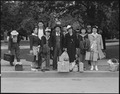Hayward, California. This farm family await evacuation bus. Father and mother immigrated from Japa . . . - NARA - 537508.tif
