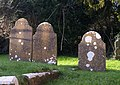 Headstones, Abbotskerswell - geograph.org.uk - 1615141.jpg