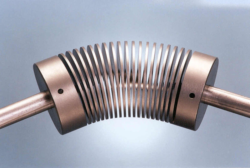 File Helical U Joint Beam Style Coupling Angular