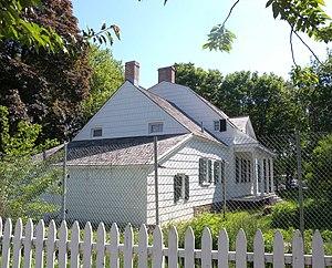 Hendrick I. Lott House - The Lott house under restoration