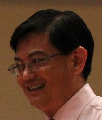 Heng Swee Keat - Heng Swee Kiat at Nan Hua High School in July 2012