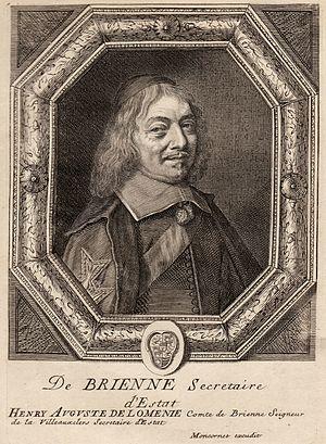 Henri-Auguste de Loménie, comte de Brienne - Henri-Auguste de Loménie de Brienne