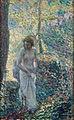 Henri Lebasque - Una joven en el bosque.jpg