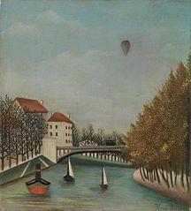 Study for View of the Pont de Sèvres (Esquisse pour Vue du Pont de Sèvres)
