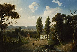 Landscape with Stagecoach