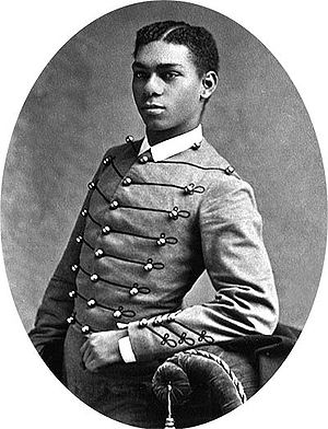 English: Photo of the first African American G...
