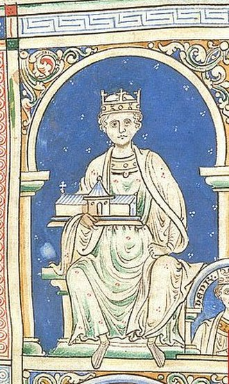Counts and dukes of Anjou - Image: Henry II of England