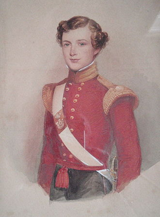 Sir Henry Wilmot, 5th Baronet - Henry Wilmot in 1849 as an Ensign of the 43rd Foot
