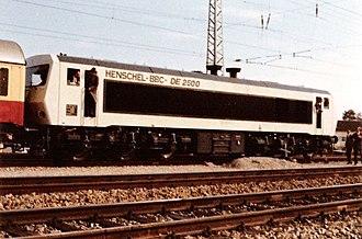 Henschel-BBC DE2500 - DB 202 002