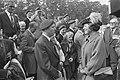 Herdenking Slag om Arnhem op Airborne begraafplaats , Oosterbeek Koningin Beatr, Bestanddeelnr 933-0894.jpg
