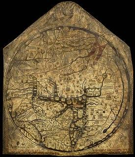 Mappa mundi Medieval European map of the world