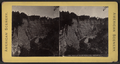 High Cliff below Middle Fall, Portage, N.Y, from Robert N. Dennis collection of stereoscopic views.png