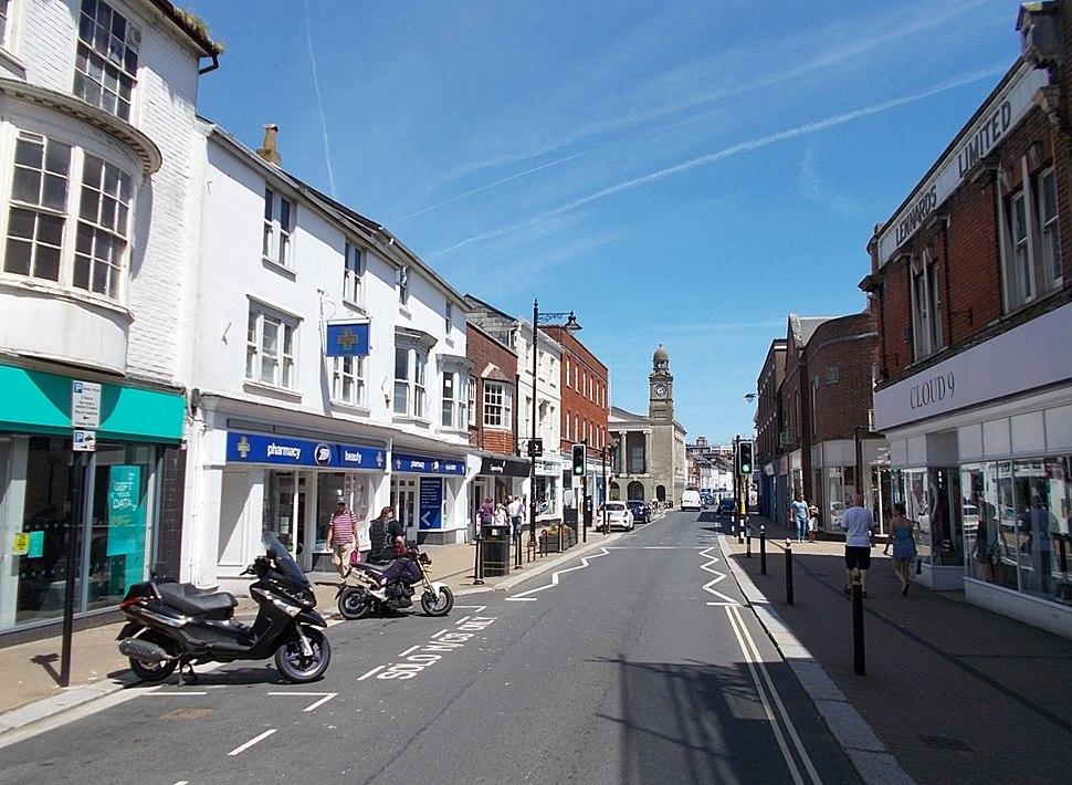 High St, Newport, Isle of Wight, UK