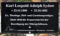 Hinweis Mehringdamm 21 (Kreuz) Karl Leopold Adolph Sydow.jpg