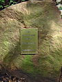 Hinweis zur Blumeninsel Baumbestattungen Bergfriedhof Heidelberg BILD0681.JPG