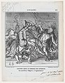 History revised and corrected by the operetta- Go ahead Chilperic and Agamemnon!, from 'News of the day,' published in Le Charivari, December 11, 1868 MET DP877735.jpg