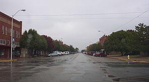 Hobart, Oklahoma - Main Street of Hobart, 2004