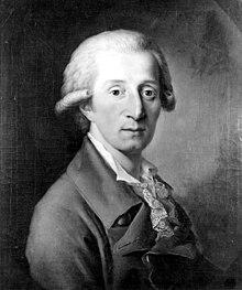 Der 30-jährige Hoffmeister in Wien, gemalt von Christian Ludwig Seehas (Quelle: Wikimedia)