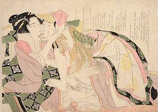 Hokusai, Untamed Lion