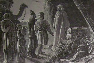 Holman Balaam Receiving Balaks Messengers