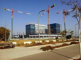 Sapiens International Corporation - Holon Azrieli Center, headquarters of Sapiens