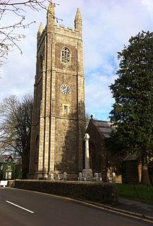St Peters and St Pauls Church, Holsworthy Grade II* listed building in Holsworthy, Torridge, Devon, UK