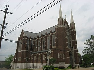 Frank Seiberling - Image: Holy Trinity Lutheran Church, Akron