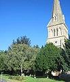 Holy Trinity church on corner of Chapel Hill - geograph.org.uk - 2075156.jpg
