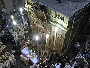 Holy places - The Church of the Holy Sepulchre is one of the most important pilgrimage sites in Christianity.