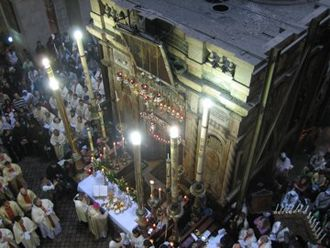 Holy Land - The Church of the Holy Sepulchre is one of the most important pilgrimage sites in Christianity, as it is the purported site of Christ's resurrection.