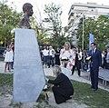 Homenaje a Miguel Ángel Blanco en los jardines que llevan su nombre 05.jpg