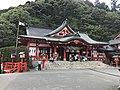 Honden of Taikodani Inari Shrine 1.jpg