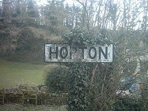 Hopton, Derbyshire - Image: Hopton village, Derbyshire