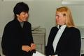 Hortense von Gelmini (r.) mit Dr. Siliva Berk (l.) 1994.png