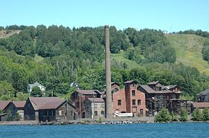 Quincy Smelter - Quincy Smelter site in July 2008