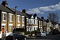 House Road nera Old Oak Common area in London, spring (4).JPG