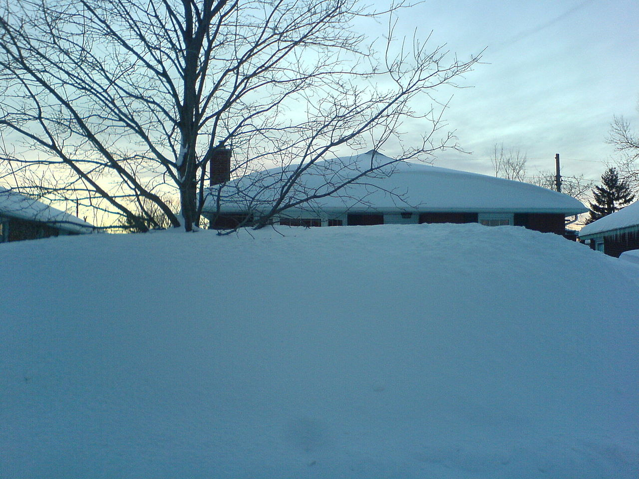 Ontario Canada Snow
