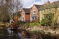 Houses by the Wyrley & Essington Canal - geograph-4903143.jpg