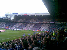 Huddersfield Town fans at Old Trafford
