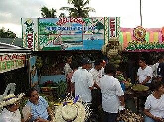 Liloy, Zamboanga del Norte - Liloy Booth at Hudyaka Zanorte Festival