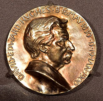 Hughes Medal - Avers of Hughes Medal