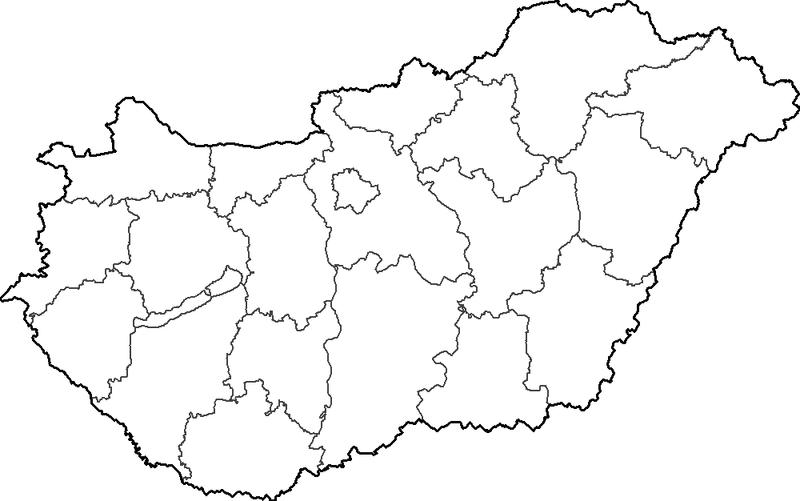 magyarország térkép rajz Játékos tanulás és kreativitás: Magyarország megyéi   játékok magyarország térkép rajz