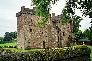 Raid of Ruthven - Ruthven Castle now called Huntingtower