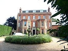 Maison Hylands, Epsom.  La grande maison de ville où vécut John Constable de 1809 à 1811.