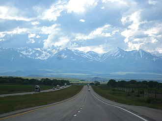 Interstate 90 - I-90 near Park City, Montana