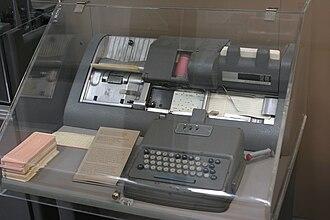Keypunch - IBM 026 Keypunch