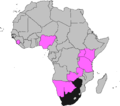 ICC Africa Under-19 Championship participants, 2009–2013.png