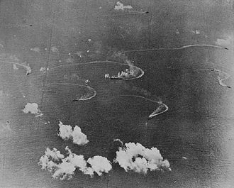 1st Mobile Fleet (Imperial Japanese Navy) - Task Force A, 1st Mobile Fleet during the Battle of the Philippine Sea on 20 June 1944